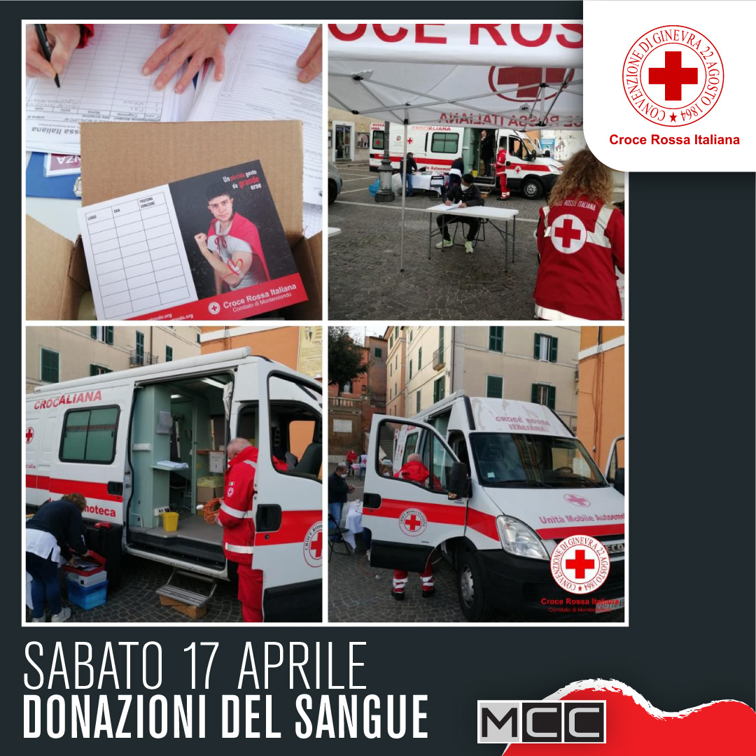 Donazione sangue 17 aprile