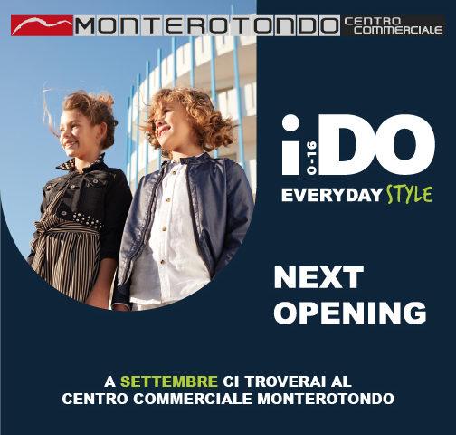 IDO abbigliamento bambini: nuova apertura a settembre